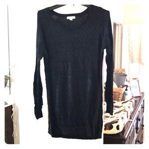 Sequin Maternity Sweater